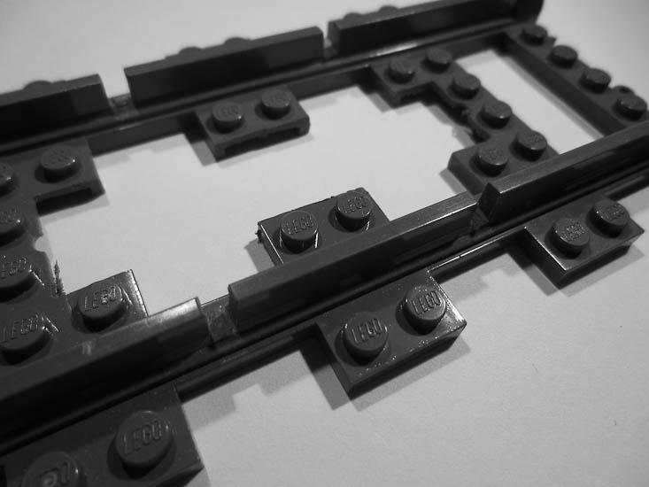 Как сделать рельсы для лего