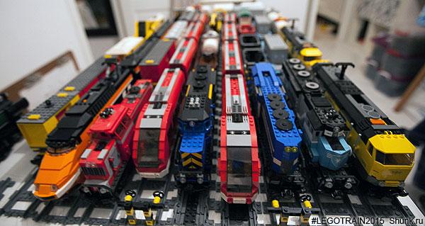 количество лего поездов,